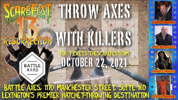Throw Axes with Killers