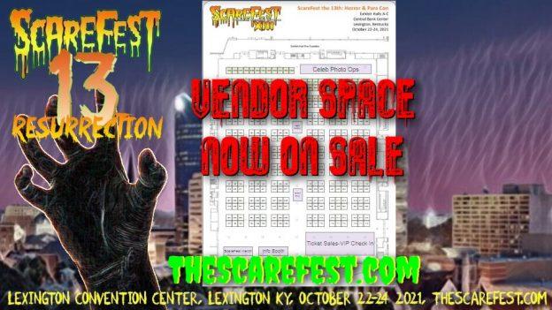 Vendor Space On Sale