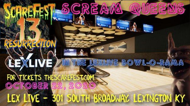 Scream Queens in the Lexlive Bowl-O-Rama