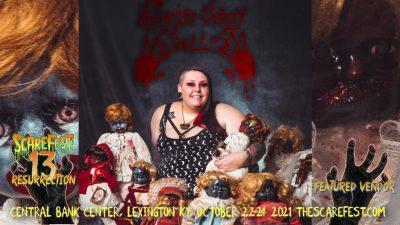 Monster Cherry Dolls