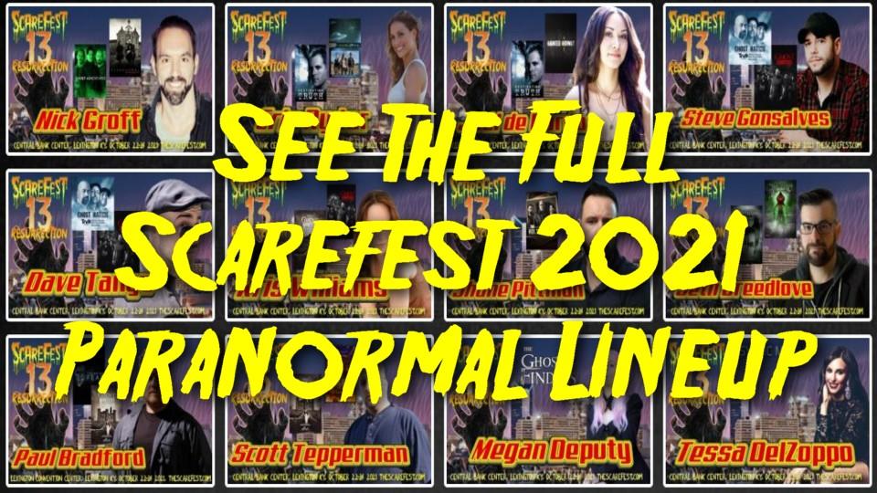 Paranormal Lineup