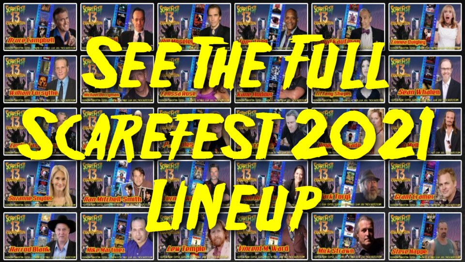 See the Full Scarefest 2021 Lineup