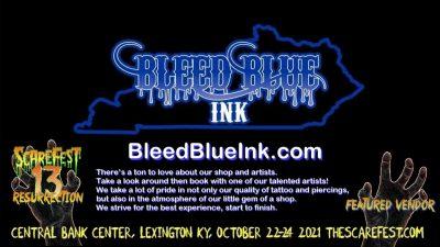Bleed Blue Ink