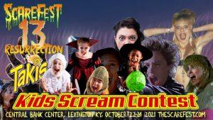 Kids Scream Contest